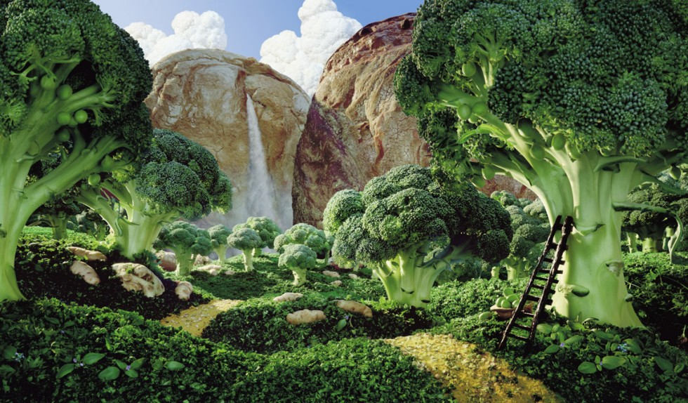 Picture-19 ( 20 Mind Blowing Foodscapes - Compositing intricate landscapes by Carl Warner )